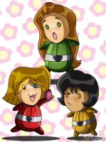 Totally Chibi Spies by XJKenny