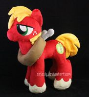 Big Macintosh Plush by siriasly
