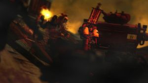 Let them come, let them die! ::Warhammer 40k by guywiththesuitcase