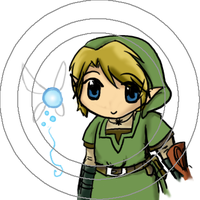 LoZ Link Button by selenaloong