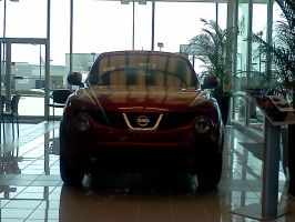 2011 Nissan Juke red by Kyuubichowderfan