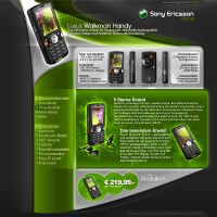 Sony Ericsson W810i Interface by Carl06