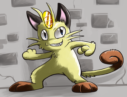 Maybe Meowth by raizy