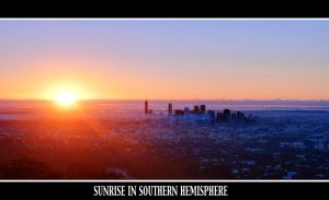 Sunrise in Southern Hemisphere by kate-art