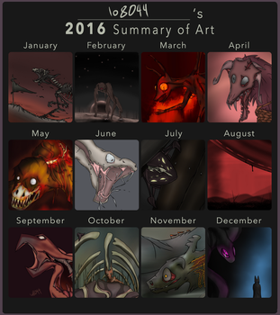 2016 Art Summary by Io8044
