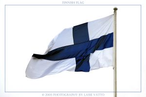 Finnish Flag by Jupp1