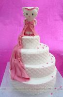 Hello Kitty's 16th Cake by ginas-cakes