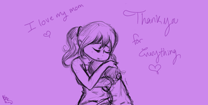 I honest to god love my mom by PandacatPC