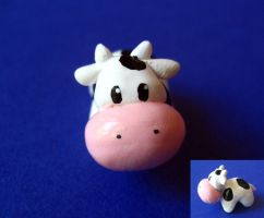 Harvest Moon Cow Figure by mAd-ArIsToCrAt