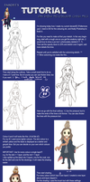 How To Colour [Chibi] Pics by faror1