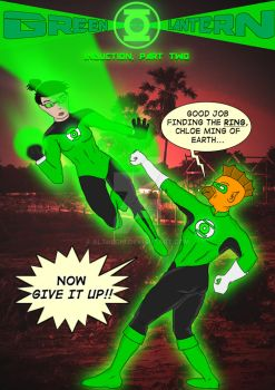 Green Lantern: Induction, Part 2 by althechi