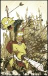 HOMER DINES IN HELL by angelgaby