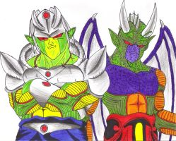 Helix and Lord Devil Rex by DBZ2010