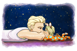 Time For Beddy Bye by ArtbyMaryC
