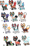Cheeb gryphons SOLD by griffsnuff