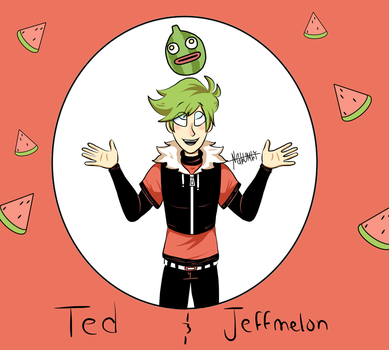 Ted and Jeffmelon by NGlumly