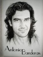 Antonio Banderas by machoart