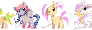 Pony Adoptables SOLD by EvilQueenie