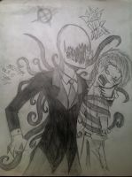 Caught By The Slender Man by King-Kipp