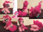 Pinkie Pie Needlefelt by Neeko48
