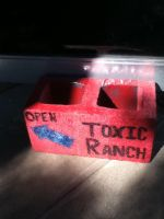 Toxic Ranch Records Door Stopper by NickVoid1991