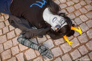 Vriska Serket, hunting dreams. by Kitthehedgehog