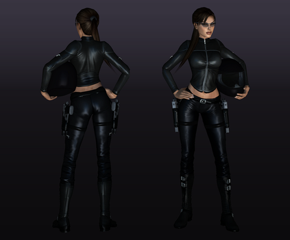 New outfit motorcyclist by legendg85