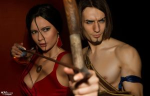 Prince of Persia and Farah - Cosplay Art Preview by LeonChiroCosplayArt