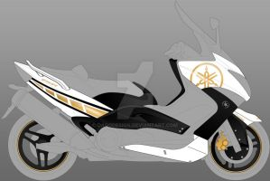 Gold T-Max 500 2008 D.d.P. by DagoDesign