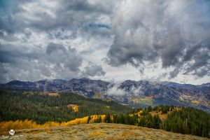 Low Clouds and Autumn Hills by mjohanson
