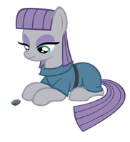 Maud and boulder by sofunnyguy