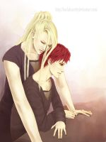 Sasori x Deidara by KarlaFrazetty