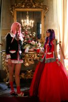 Utena and Anthy Cosplay by Kenoma