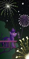 New Year 2015 by Dahtamnay