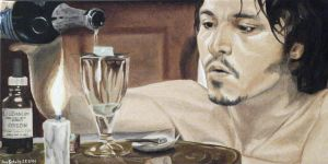Johnny Depp  - Abberline by shaman-art
