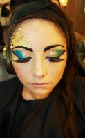 Egyptian Makeup 4 by Kan3xO