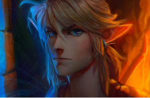 Wild Link (realistic version) by EponaN64