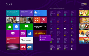 Windows 8 Metro Concept - Context Menus by myownfriend