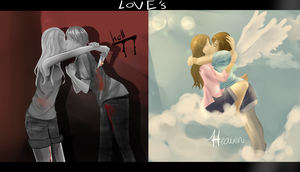 Love's heaven and hell by Duchesse2