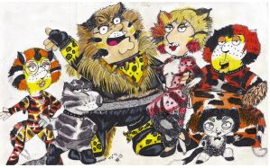 Jellicle Griffins by MWRoach