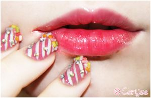 Candy nails by Ceryse