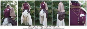 Steampunk Magi Capelet +Bustle by taeliac
