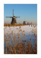 Winter in Holland I by Bl4ckSt4r