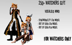 250+ Watchers Gift-Synchronicity And Out Of Eden by ChiharuYuuka