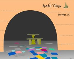 Spanish Village by Wixarts