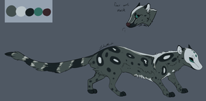 Masked Genet- design commission by Pekan-Pie