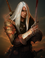 The Witcher: Geralt by Telmand