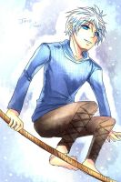 RotG_Jack Frost_Fly to the sky by Feruru