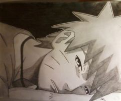 Naruto Uzumaki_sleepy by jjellona92