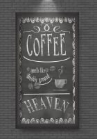 Coffee ( Typography ) by MikuRC